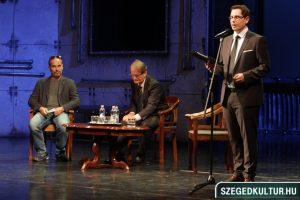 Szegedi Nemzeti Színház évadnyitó társulati ülés egy pillanata