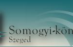 kulturális örökség Somogyi könyvtár