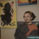 Treplán Gábor egyik festményével