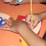 kézműves foglalkozások a Somogyi- könyvtárban