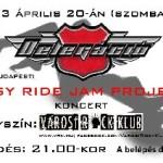 Delegacio rock klub aprilis