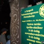 Múzeumok Éjszakája  füvészkertben