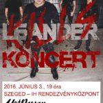 Leander kills Szegeden