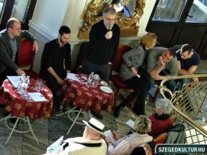 Szegedi Nemzeti Színház Kazamaták sajtótájékoztató