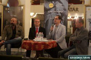135 éves a Szegedi Nemzeti Színház -gálaműsor sajtótájékoztató