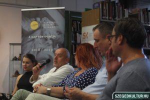 Tóték közönségtalálkozó Somogyi-könyvtár