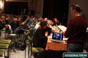 Szegedi Nemzeti Színház 2020 Orwell 1984 olvasópróba