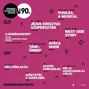 Szegedi Szabadtéri 2021 műsor