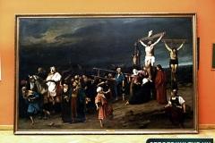 Két újabb festmény a Golgota helyén